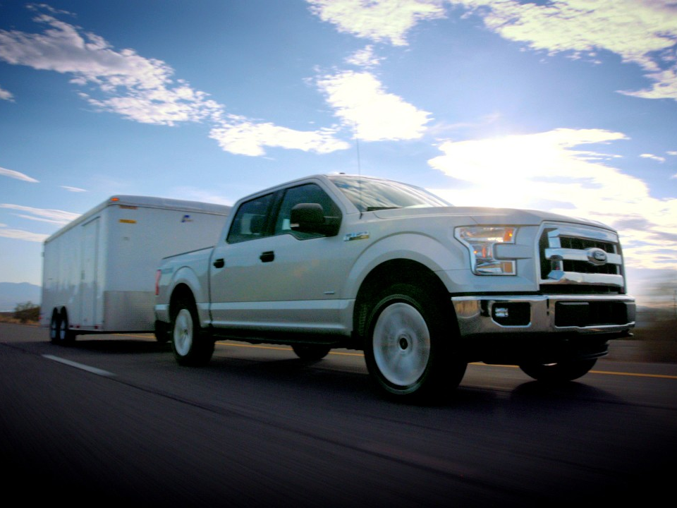 Ford F  Powered By The  L Ecoboost V Engine Claimed The Top Spot In The Pickuptrucks Com Texas Truck Showdown Max Mpg Fuel Economy Challenge