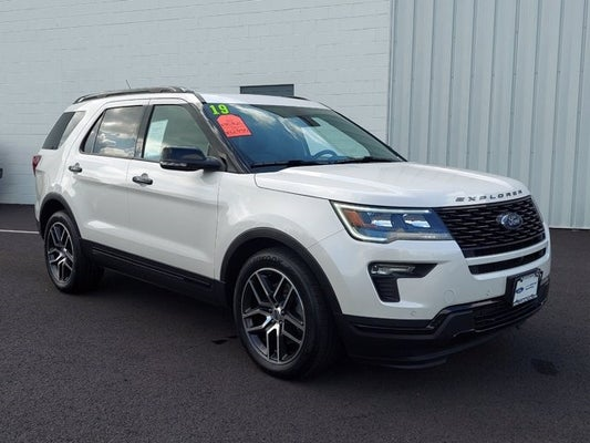 Used Ford Explorer Sport >> 2019 Ford Explorer Sport Ford Dealer In Flemington New Jersey